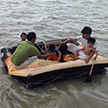 Boat Riding in Inani beach, coxbazar