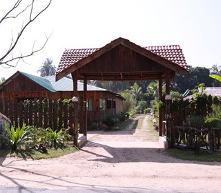 Entrance Of The Sampan Resort
